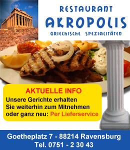 Restaurant Akropolis Ravensburg